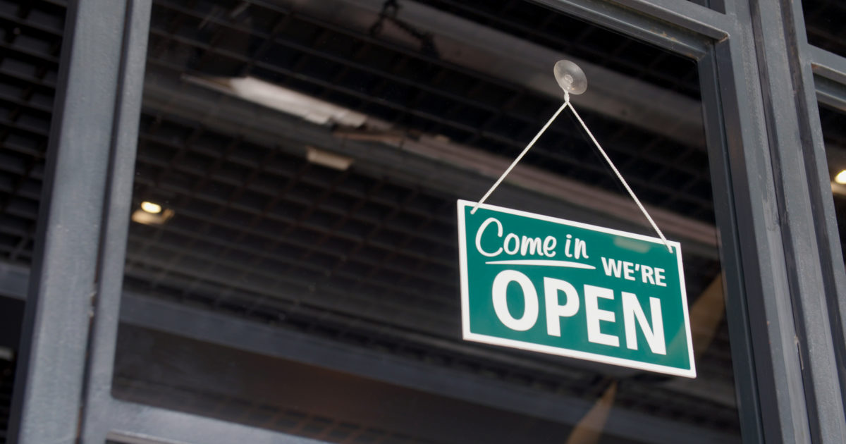 Reopen Business