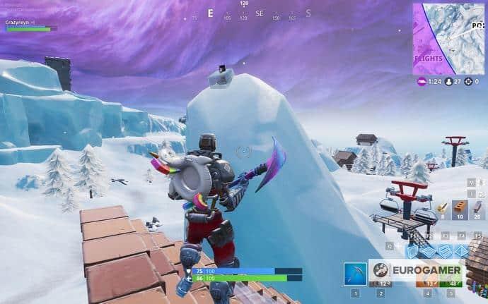 between frosty flights and polar peak